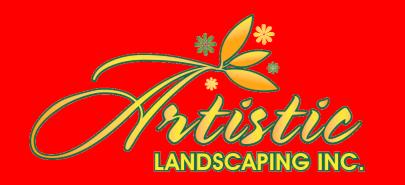Artistic Landscaping Logo
